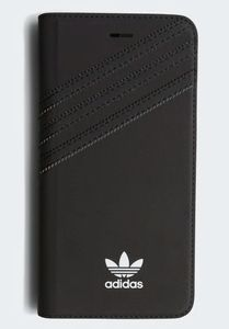 ADIDAS Booklet Case i8 Plus, Black TPU For Apple iPhone 8/7/6/6s Plus (CJ1256)