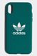 ADIDAS Adicolor Moulded Case iPhone X - Collegiate Green
