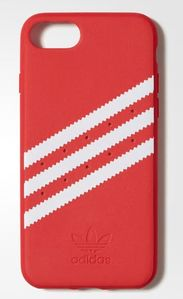 ADIDAS Moulded Case i8/i7, Red Stripes Cover For Apple iPhone 8/7 (CJ1250)