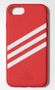 ADIDAS Moulded Case i8/i7, Red Stripes Cover For Apple iPhone 8/7