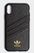 ADIDAS Moulded Case iXR Snake, Black TPU For Apple iPhone XR