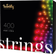 TWINKLY Strings Christmas 400 LED RGB