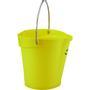 ABENA Spand til fødevarer, Vikan, 6 l, gul, PP/rustfrit stål, med hældetud