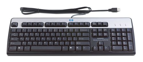 HP USB STD KEYBOARD FOR RETAIL                                  IN PERP (J4A11AA)