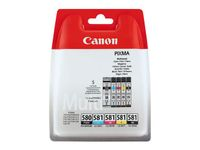CANON Ink/ PGI-580/ CLI-581 Cartridge CMYK BLIST (2078C005)