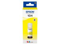 EPSON 104 ECOTANK YELLOW INK BOTTLE 1 X 65MLYELLOW SUPL (C13T00P440)