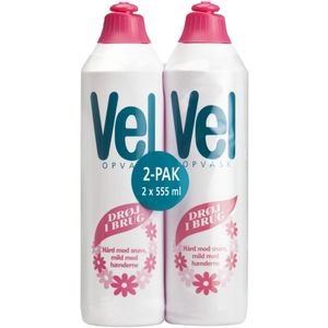 KD Opvaskemiddel,  Vel Regular, 555 ml (1000002310*18)