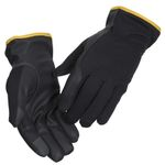 All-round handske, 10, sort, PU/ polyester/ lycra,  Driver, touch screen