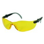 Beskyttelsesbrille,  THOR Vision, One size, gul, PC, flergangs