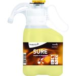 Grundrengøring,  Diversey SURE Cleaner & Degreaser,  1,4 l, SmartDose