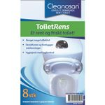 WC tabs, Minatol Cleanosan,  8 stk.