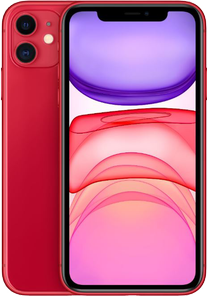 APPLE Smartphone iPhone 11 64GB Red (MWLV2QL/A)