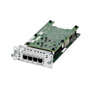 CISCO 4 port Network Interface Module FXO (Universal) (NIM-4FXO)