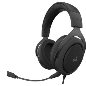 CORSAIR - Gaming HS50 PRO Stereo, Carbon (CA-9011215-EU)