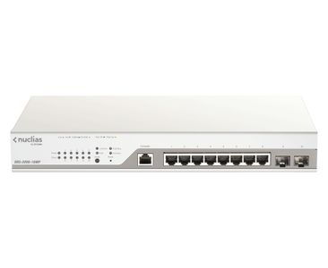 D-LINK 10-Port Gigabit PoE+ Nuclias Smart Managed Switch including 2x SFP Por (DBS-2000-10MP)