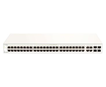 D-LINK 52-Port Gigabit Nuclias Smart Managed Switch including 4x 1G Combo Po (DBS-2000-52)
