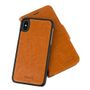 CRAVE Leather Guard iPhone X Brown