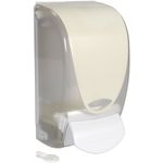 Dispenser,  Deb, 1000 ml, hvid, plast, manuel