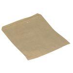Brødpose, 21, 5x17cm,  40 g/m2, brun, papir, uden rude, engangs
