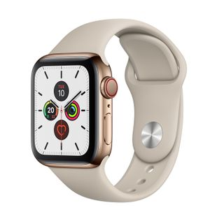 APPLE WATCH SERIES 5 GPS + CELLULAR 40MM GOLD         IN CONS (MWX62KS/A)
