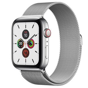 APPLE Watch S5 Cellul.Edelst.Mil 44mm sr | Milanaise MWWG2FD/A (MWWG2FD/A)