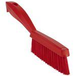 Håndbørste,  Vikan, 300x20x70mm,  rød, PP/ polyester/ rustfrit stål, meget stive børstehår *Denne vare tages ikke retur*
