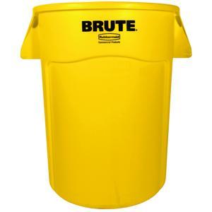 _ Affaldsspand,  Rubbermaid Brute, 167 l, gul *Denne vare tages ikke retur* (176795)