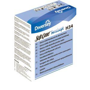KD Sæbe, Soft Care Sensisept H34, 800 ml, antibakteriel,  uden farve og parfume (163396*6)