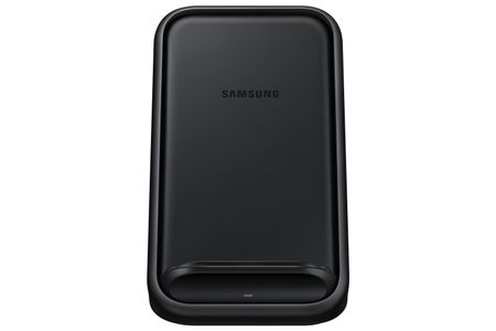 SAMSUNG Wireless Charging Stand, Black Charging Stand, Black, 15W (EP-N5200TBEGWW)