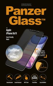 PanzerGlass iPhone XR/XIr CamSlider Privacy, Black (CF) (P2668)