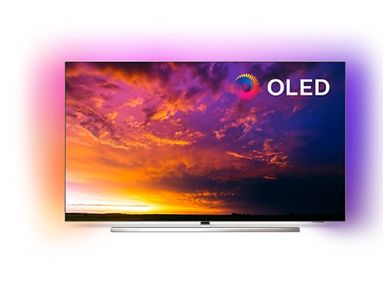 "PHILIPS 55"" OLED Smart TV 55OLED854 OLED, Android TV, tresidig Ambilight,  HDR 10+, Dolby Vision & Atmos, P5 (55OLED854/12)"