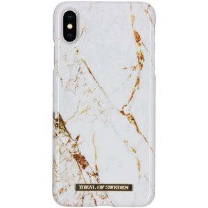 iDEAL OF SWEDEN FASHION CASE IPHONE XS MAX CARRARA GOLD (IDFCA16-I1865-46)