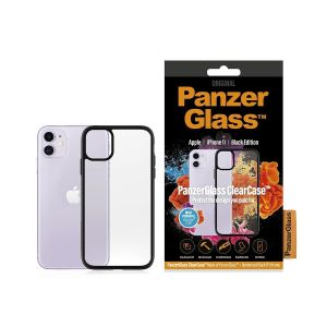 PanzerGlass ClearCase med BlackFrame for iPhone 11 (0223)