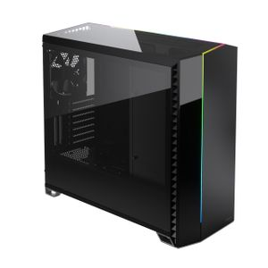 FRACTAL DESIGN Vector RS Dark Tempered Glass EATX case (FD-C-VER1A-02)