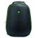 BESTLIFE 17'' BestLife Gaming Backpack Assailant,  Black/ Green