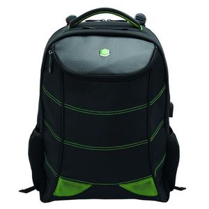 "BESTLIFE 17'' BestLife Gaming Backpack Snake Eye, Black/ Green (BB-3332GE-17"""")"