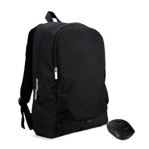 ACER NB Bag 15,6 Acer Starter Kit Backpack incl. RF2.4 Wireless Optical Mouse black 2.Gen. (NP.ACC11.029)