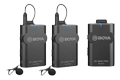 BOYA Updated 2.4G Wireless Mic 1+1