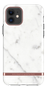 Richmond & Finch White Marble, New iPhone 6.1 screen, rose gold detail