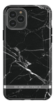 Richmond & Finch Black Marble, New iPhone 6.5 screen, silver details (IP265-064)
