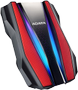 A-DATA 1TB Pro Ext. Hard Drive. Red