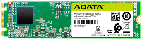 A-DATA Ultimate SSD SU650 120GB M.2 SATA-600 (ASU650NS38-120GT-C)