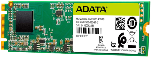 A-DATA SU650NS38 240GB M.2 SATA (ASU650NS38-240GT-C)