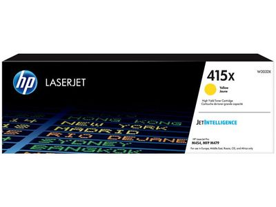 HP 415X Yellow LaserJet Toner Cartridge (W2032X)