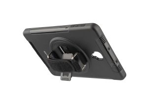 4smarts GRIP Case, Sort Ekstra robust, med håndstrapp,  for Galaxy Tab A 2018 (4S467800)