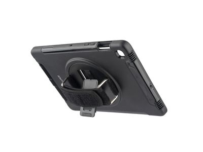 4smarts GRIP Case, Sort Ekstra robust, med håndstrapp,  for Galaxy Tab S5e (4S467801)