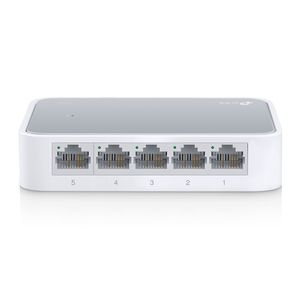 TP-LINK SWITCH TL-SF1005D 5PORT 10 100M MINI DESKTOP 5 10 100M RJ45PORT RETAIL (TL-SF1005D)