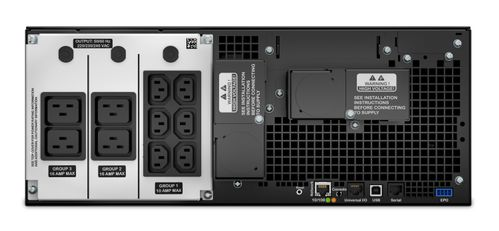 APC Smart UPS/ 6000VA SRT RM extended-run 230 (SRT6KRMXLI)