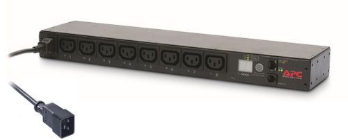 APC Rack PDU, Switched, 1U, 16A, 208/230V, (8)C13 (AP7921B)