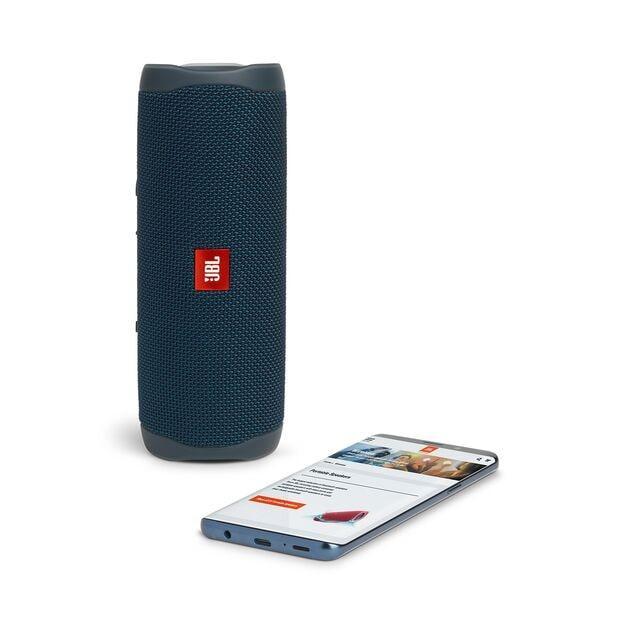 JBL Flip 5 Blue - vanntett (JBLFLIP5BLU)